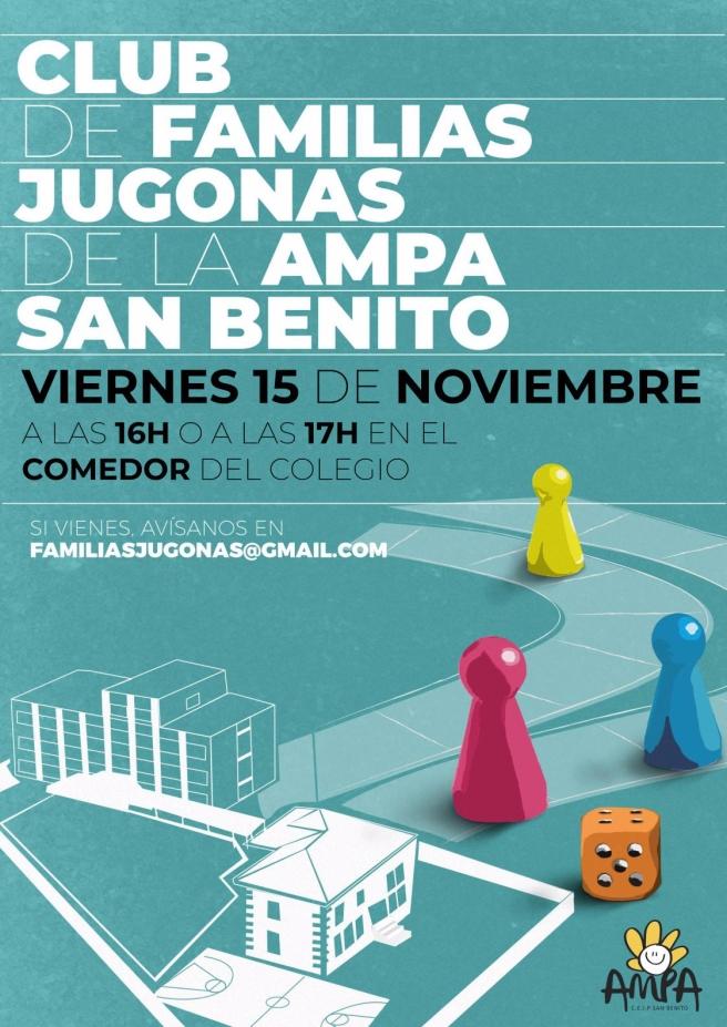 Club familias jugonas AMPA del san Benito